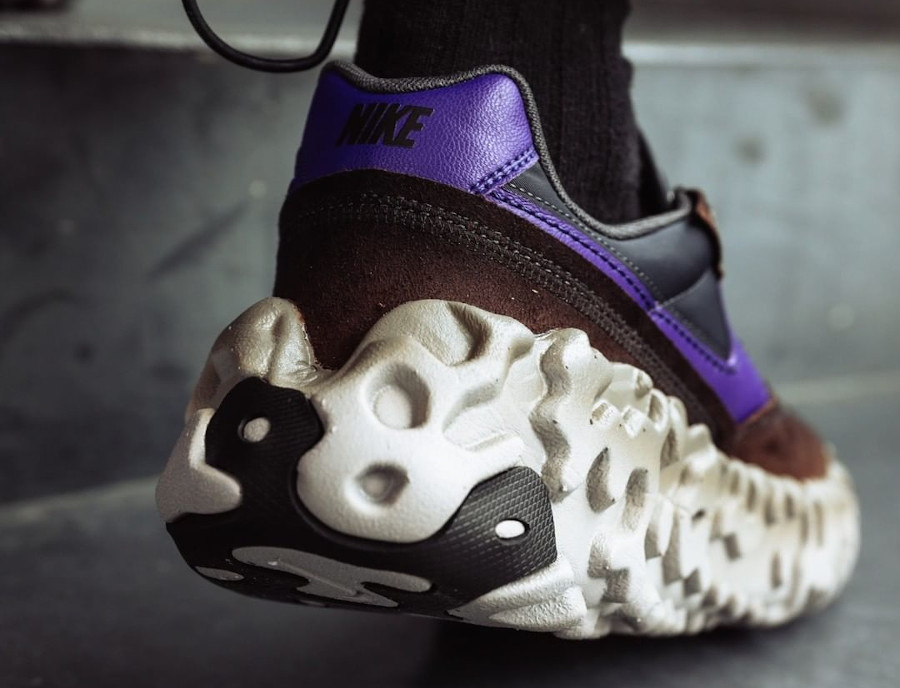 Nike Daybreak Over React marron noir et violet (7)