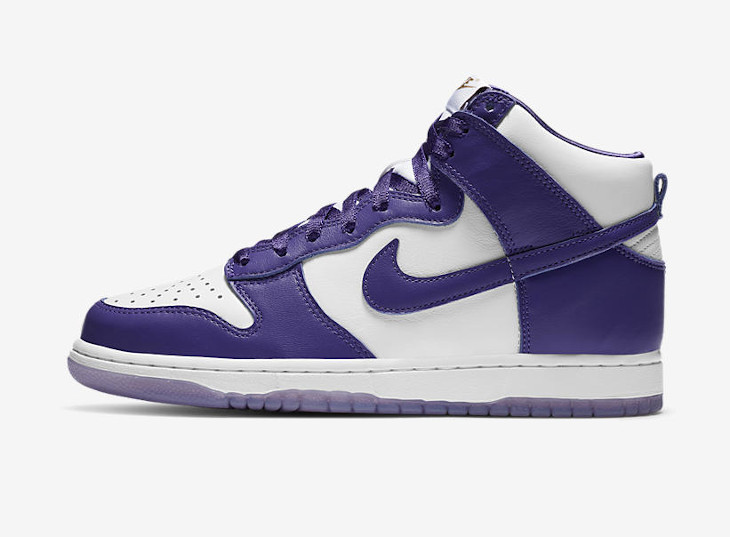 Nike Dunk High SP Varsity Purple