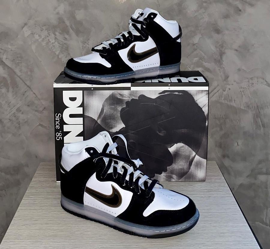 Nike SB Dunk High Pro Slam Jam Clear Black DA1639 101