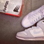 Slam Jam x Nike Dunk High Pro SB 'Clear White'