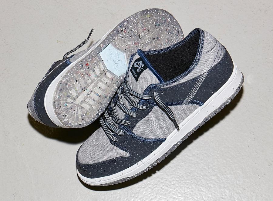Nike SB Dunk Low Pro E Crater 'Dark Grey'