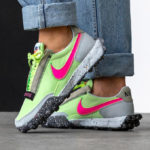 Nike Wmns Waffle Racer Crater 'Barely Volt'