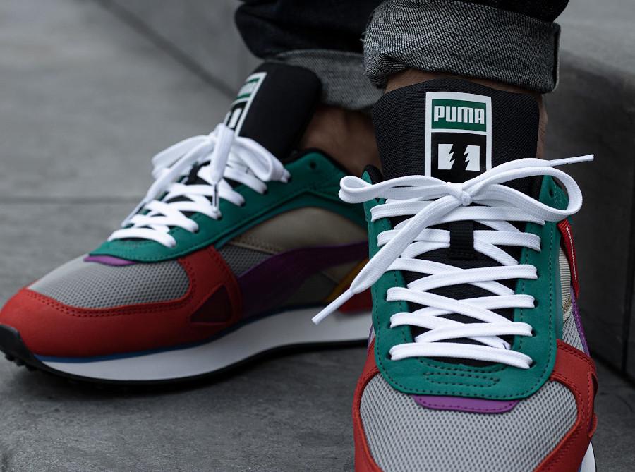 Puma Future Rider HF multicolore en matériaux recyclés (1)