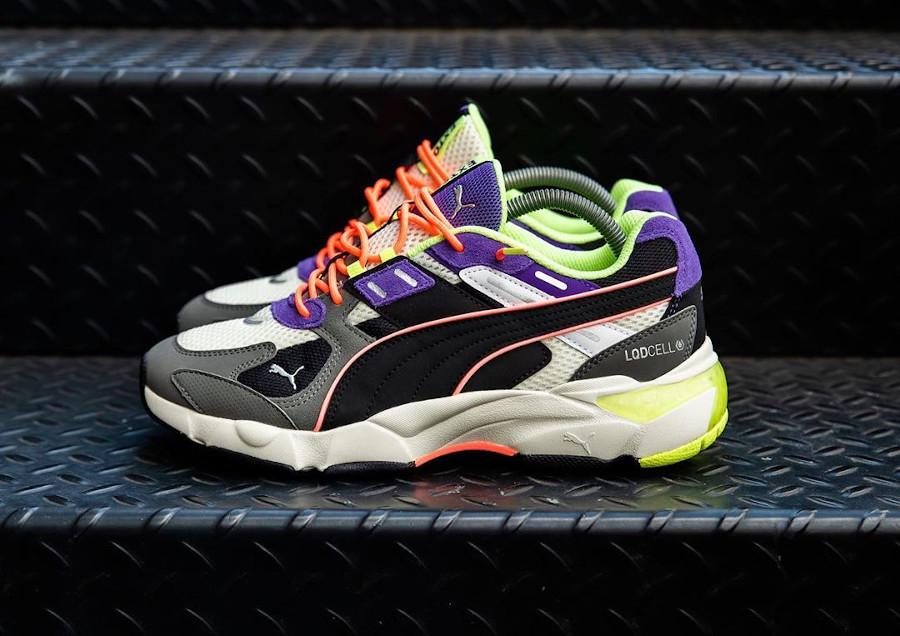 Puma-LQD-CELL-Extol-grise-jaune-fluo-noir-violette-5