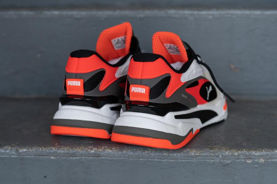 Puma Running System blanche noire et orange (4)