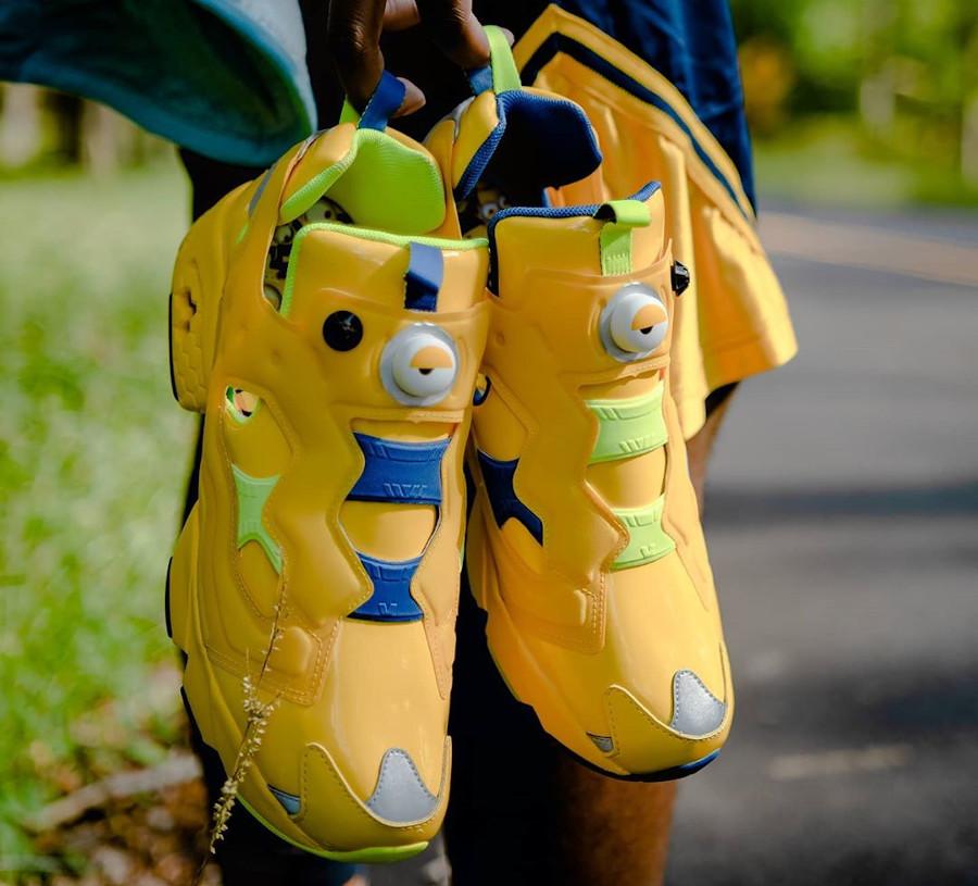 Reebok Instapump Fury Minions Primal Yellow FY3404