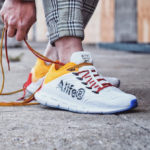 Alife New York x Reebok Zig Kinetica 'White Yellow Blue'