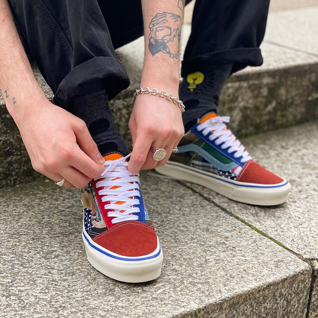 Vans Style 36 Patchwork 2020 on feet