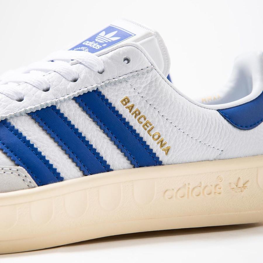 Adidas Barcelona blanche bleue et beige (3)