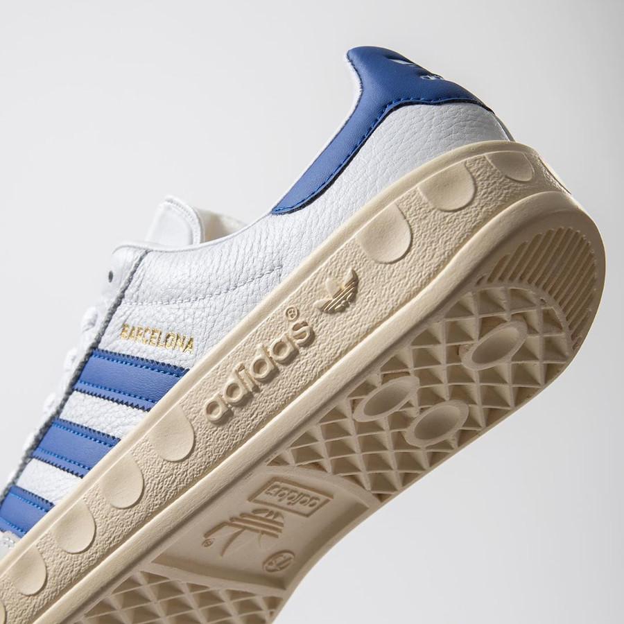 Adidas Barcelona blanche bleue et beige (6)