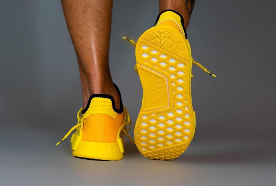 Adidas Human Race 2020 en Primeknit jaune (1)
