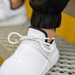 Pharrell Williams x Adidas NMD HU 'Core White' (Monochrome Pack)