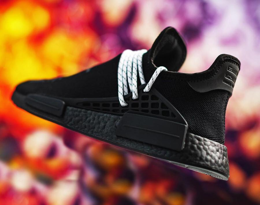 Adidas NMD HU noir caractères chinois (1)