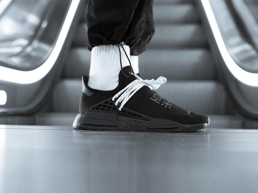 Adidas NMD HU noir caractères chinois (5)