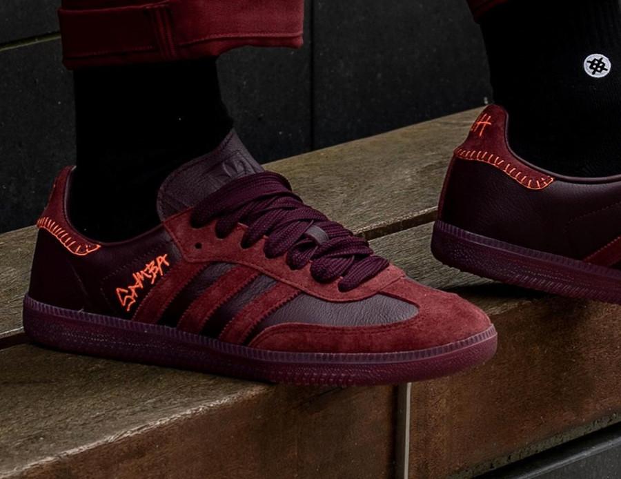 Adidas Samba JH bordeaux FW7456