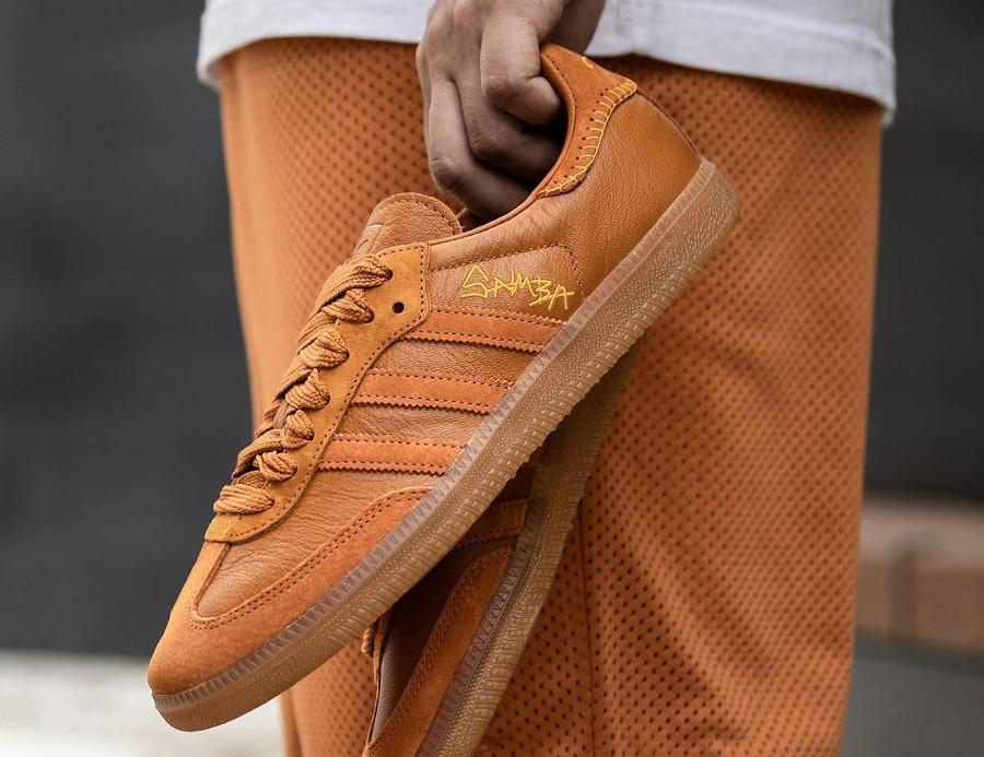 Adidas Samba JH orange FX147 (2)