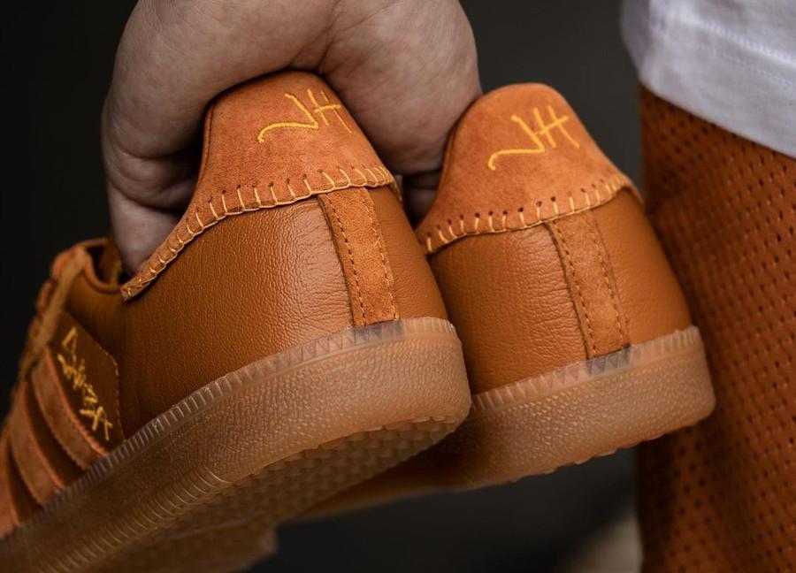 Adidas Samba JH orange FX147