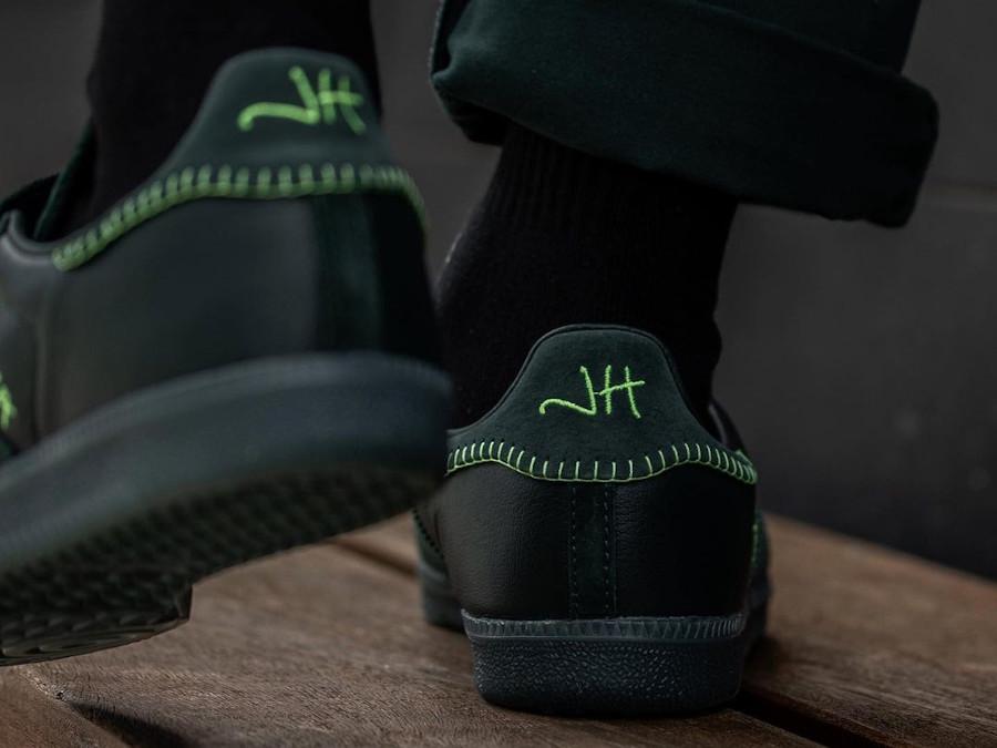 Adidas Samba JH verte FW7458 (1)