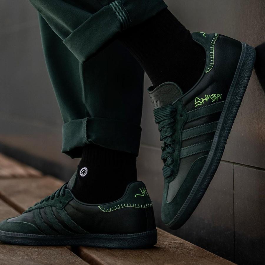 Adidas Samba JH verte FW7458 (2)