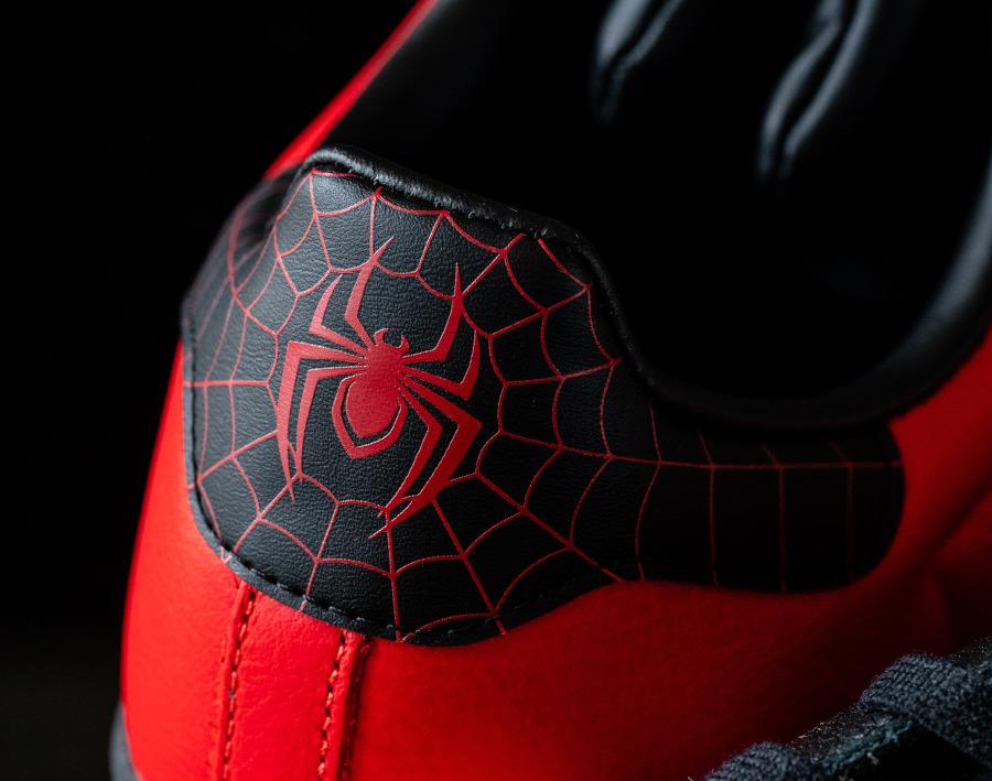 Adidas Superstar homme araignée rouge et noir (8)