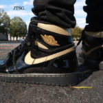 Air Jordan 1 Retro High OG Black Metallic Gold 2020