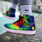 J Balvin x Air Jordan 1 Retro High 'Colores Y Vibras'