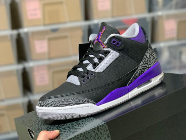 Air Jordan 3 Retro Court Purple Phoenix Suns CT8532-050