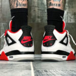Air Jordan 4 Fire Red Retro 2020 'Nike Air'