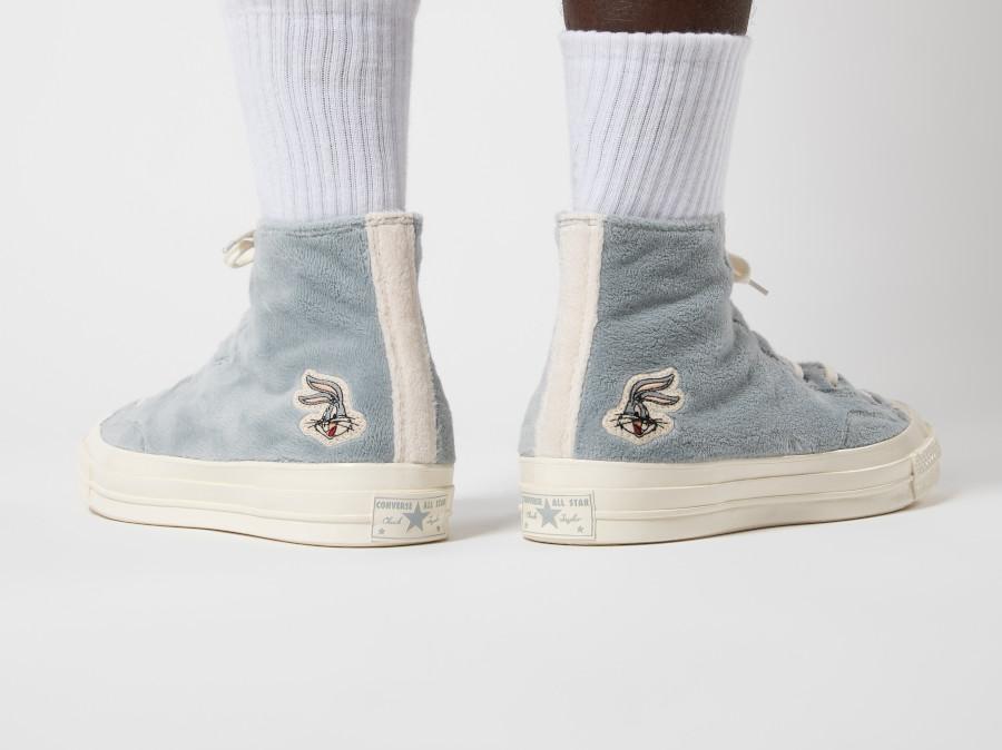 Converse-All-Star-Hi-en-fourrure-de-lapin-gris-4