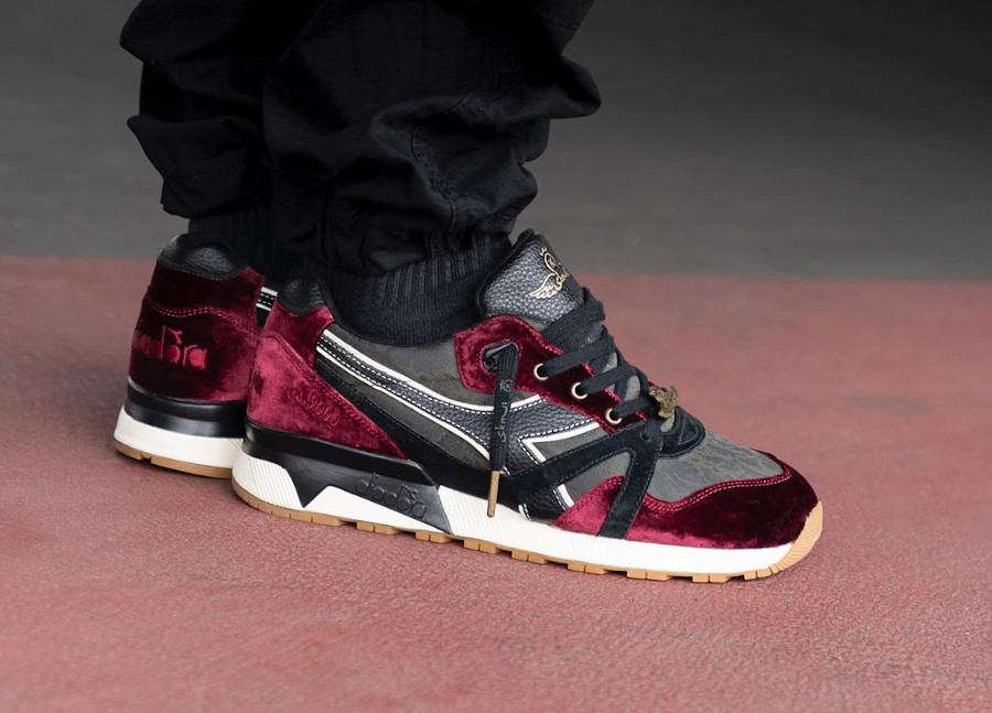 Diadora N9000 24 Kilates SBTG In Vino Veritas made in Italy