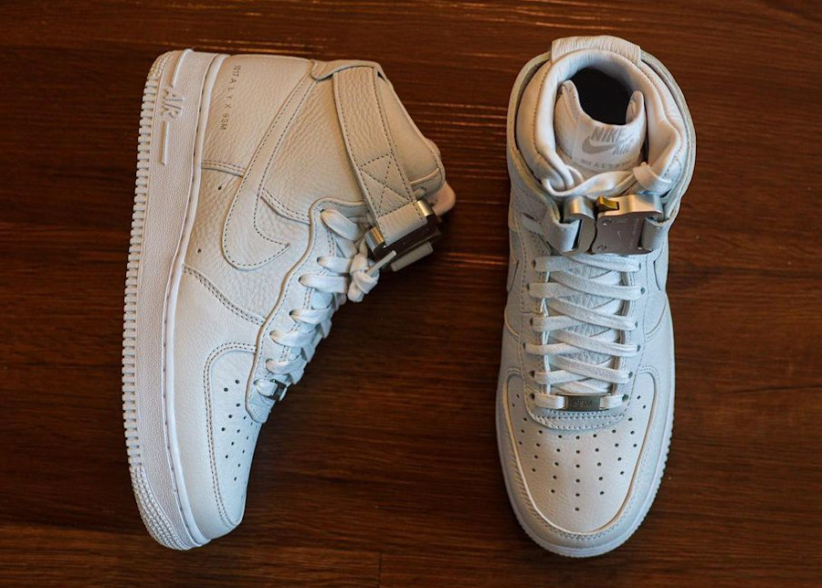 Matthew M Williams x Nike AF1 blanche CQ4018 100 (2)