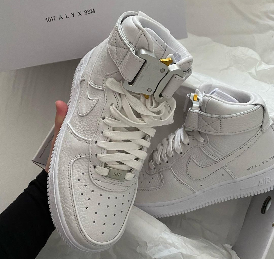 Matthew M Williams x Nike AF1 blanche CQ4018 100 (3)