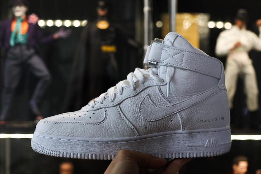 Matthew M Williams x Nike AF1 blanche CQ4018 100 (4)