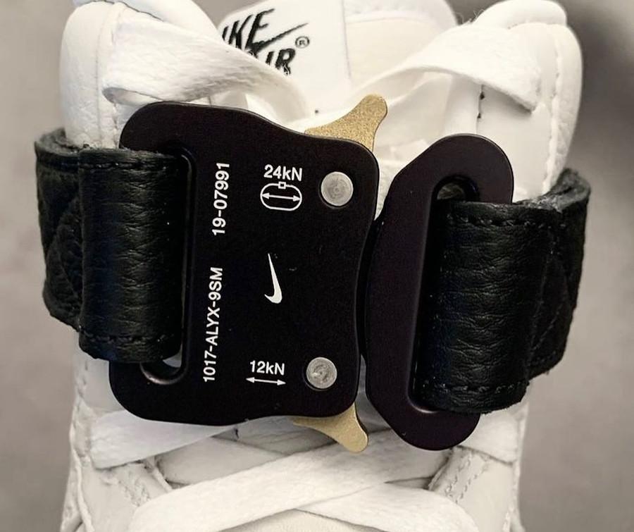 Matthew M Williams x Nike AF1 blanche et noire CQ4018-101 (1)