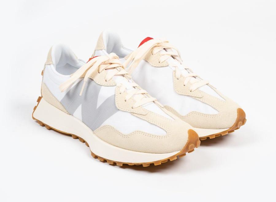 New Balance 327 2020 beige blanche et grise (1)