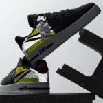 3M x Nike D/MS/X AF1 React LX 'Black Volt'