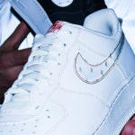 3M x Nike AF1 '07 Reflective Swoosh White Silver