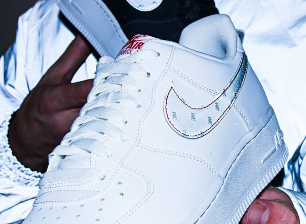 Nike 3M Air Force 1 af1 Reflective Swoosh White CT2296 100 (couv)