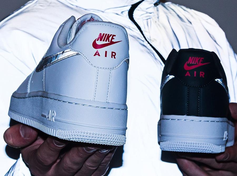 Nike AF1 '07 2020 blanche et réfléchissante (1)