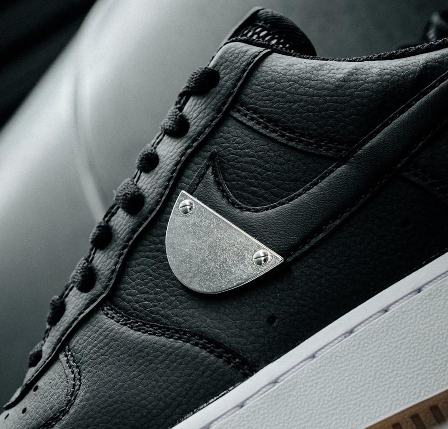 Nike AF1 '07 LV8 NBA 2020 noire et grise (2)