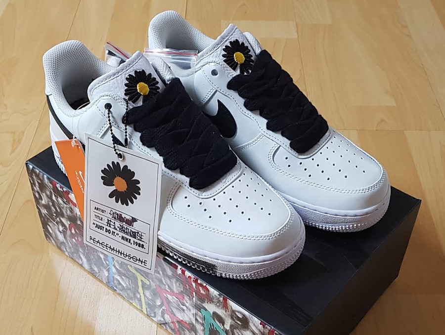 Nike AF1 Paranoise blanche 2020 (2)
