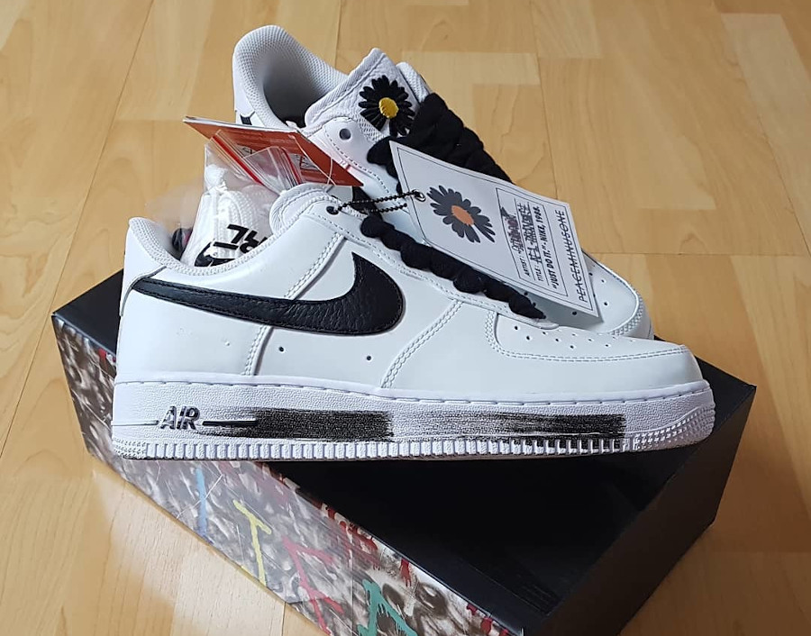 Nike AF1 Paranoise blanche 2020 (6)
