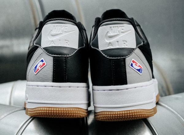 Nike Air Force 1 AF1 '07 NBA Black Wolf Grey CT2298-001