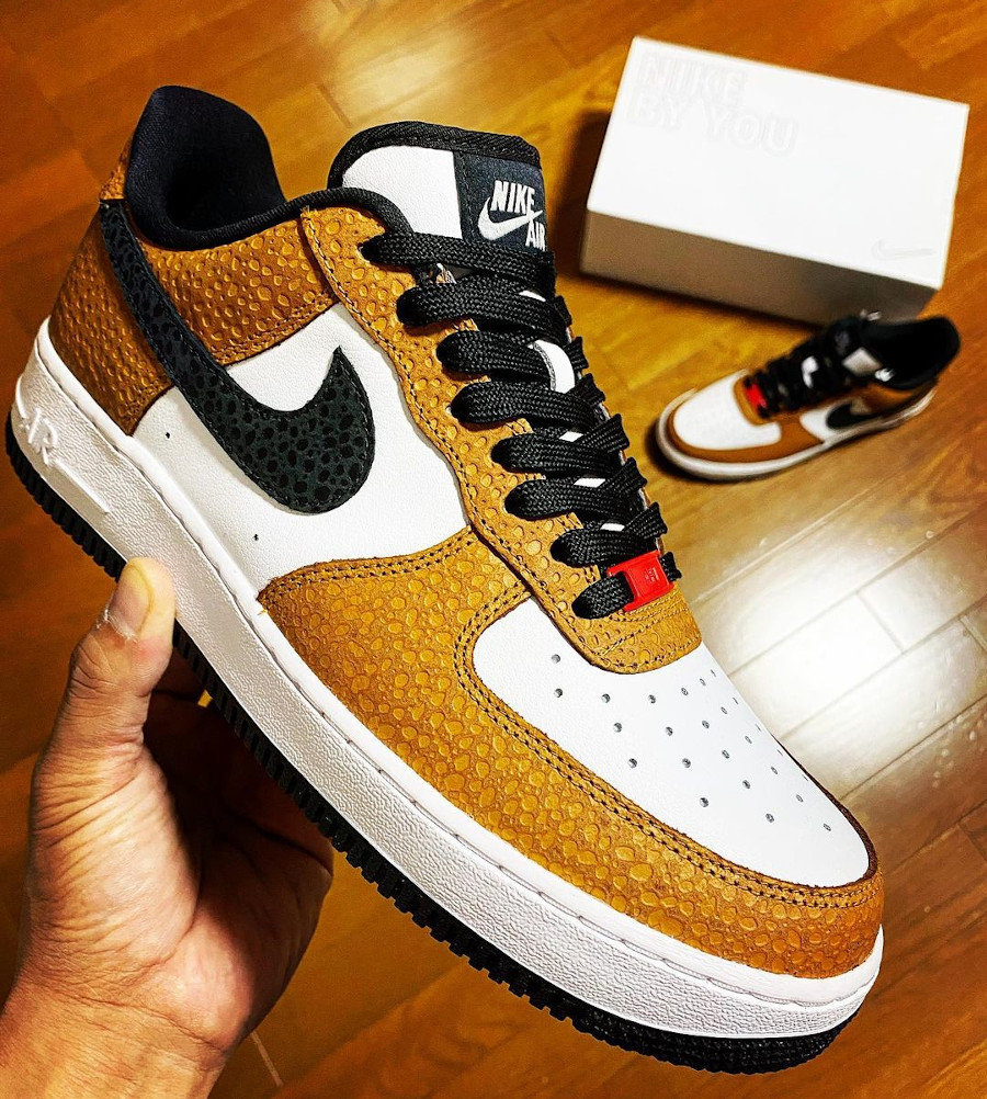 Nike Air Force 1 By You Escape Safari - @maythe4th81