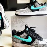 Nike Air Force 1 By You Safari Atmos Elephant & Atmos Safari
