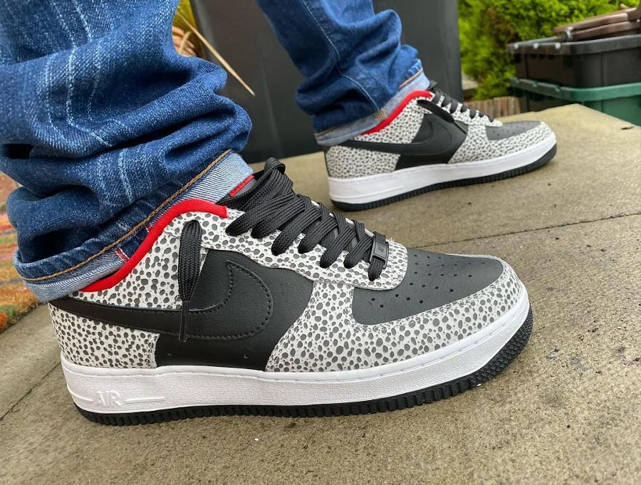 Nike Air Force 1 By You Supreme Safari - @sneaker52