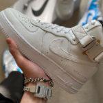 1017 ALYX 9SM x Nike AF1 High Triple White & White Black