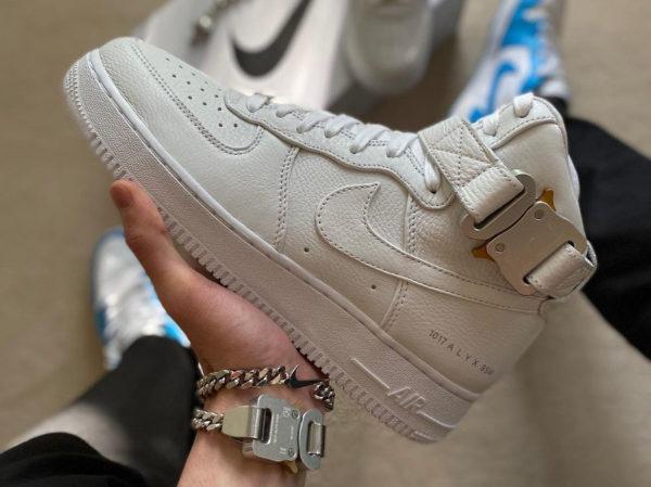 Nike Air Force 1 High ALYX Buckle White Black
