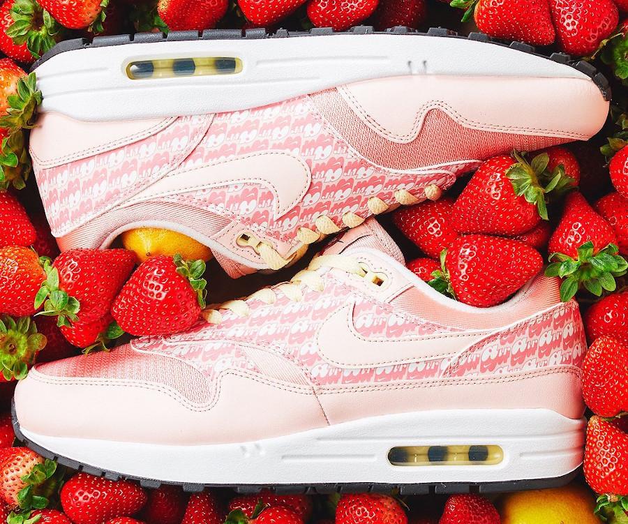 Nike Air Max 1 PRM 2020 rose fraise (3)