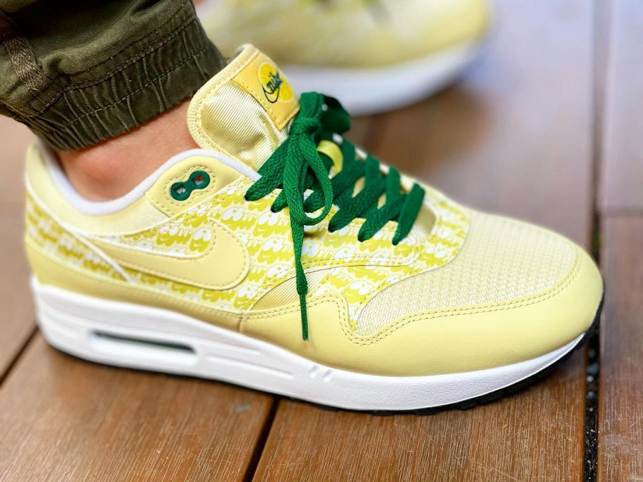 Nike Air Max 1 PRM Lemonade Powerwall 2020 CJ0609-700